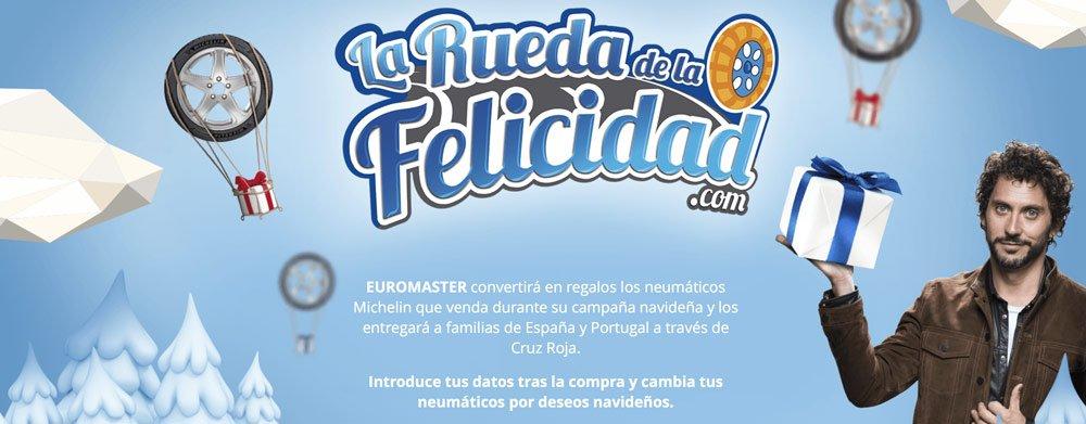 Esta Navidad únete a la #RuedaFelicidad y ayuda a que más niños tengan sus regalos.